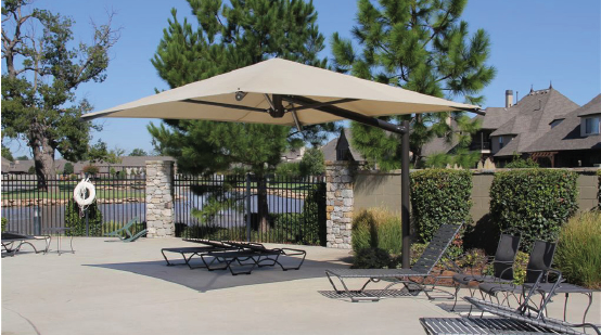Square Cantilever Umbrella Options